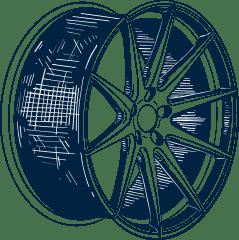 порошковая покраска дисков Калининград Euro-Gum